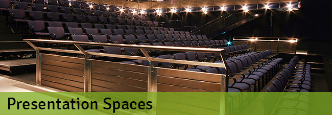 presentation spaces 650 NEW