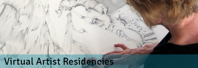 Virtual artist residencies