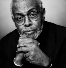 Amiri Baraka - black & white headshot